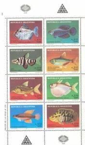 sellos por el Correo Argentino